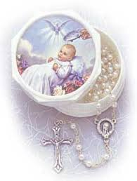 baptism rosary pre made rosaries and chaplets baptism rosary