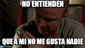 No Gusta Meme - no entienden crying guy meme on memegen
