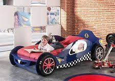 Blue Car Bed Racing Car Single Bed Ebay