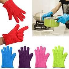 gant cuisine silicone gant silicone cuisine haute temperature couleur selon arrivage