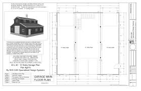 Barns Garages House Plan Pole Barn Blueprints Barn Garages Pole Barn Garages