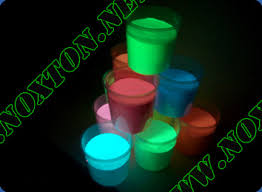 glow paint catalogue of glowing paints from noxton glow in the powder