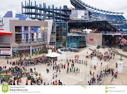 Gillette Stadium Map One Direction Fans Gillette Stadium Foxboro Ma Editorial Stock