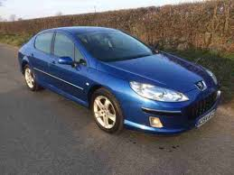 blue peugeot for sale peugeot 2004 407 2 0 hdi 136 se 4dr car for sale