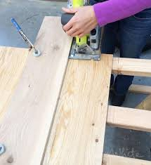 use circular saw as table saw tips to cutting plywood with a circular saw ana white woodworking