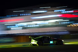 aston martin racing pole position and le mans lap record for aston martin racing