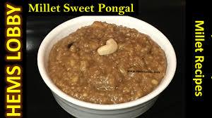 cuisine milet kuthiraivali sakkarai pongal barnyard millet pongal