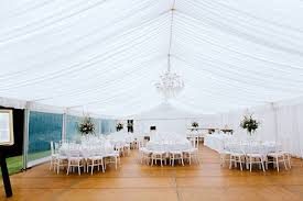 Marquee Chandeliers Chandeliers On Abbey Marquee Garden Weddings Yallingup