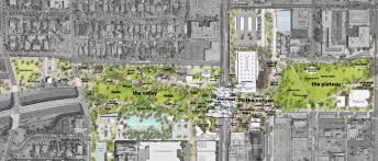 Downtown Phoenix Map by Final Master Plan Presented For Downtown Phoenix Hance Park Kjzz