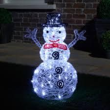 Light Up Snowman Outdoor Light Up Snowman Decoration