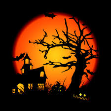 free halloween background eps halloween clip art illustrations free vector 4vector