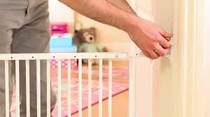 Child Stair Gates Wall Fix Safety Gate Installation Guide How To Fit Your Child