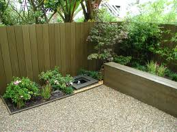 Gravel Backyard Ideas Garden Beautiful Water Feature Designs Inspirations Annsatic