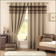 brown and white wide striped curtains curtains home design