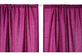 Magenta Curtain Panels Solid Curtain Panel Magenta On Onekingslane Com Apartment