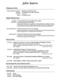 Sample Resume Format For Experienced by Write Resume First Time With No Job Experience Sample Write