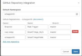 faq github integration how to add and update from repositories
