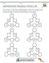 Printable Logic Puzzles Math Puzzles 2nd Grade