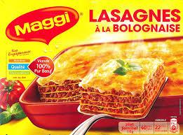 maggi cuisine lasagnes à la bolognaise 1 kg maggi