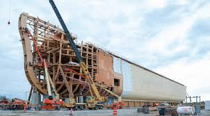 full size replica of noah u0027s ark pops up in kentucky inhabitat