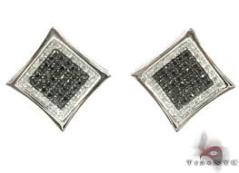 mens black diamond earrings black diamond aster earrings mens diamond earrings jewelry