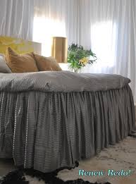 Bed Linen And Curtains - best 25 ruffle bed skirts ideas on pinterest burlap bedroom