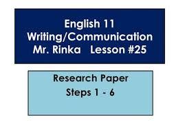 preparing a research paper steps in preparing a research paper