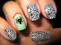 spooky spiders and wicked webs u2013 halloween nails nail smiles