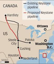 Keystone Xl Pipeline Map Keystone Xl Pipeline Red Power Media