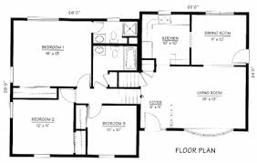 Split Level House Plan Three Level House Plans House Interior