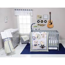 Safari Crib Bedding Set Trend Lab Safari Rock Band 6 Crib Bedding Set