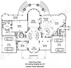 doneraile mansion floor plans luxury home plans