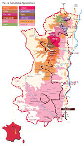 Map Of France Wine Regions by Region Discover Beaujolais