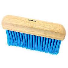 Upholstery Cleaning Brush Valet Pro Long Stiff Haired Fabric Carpet Car Mat Upholstery Brush