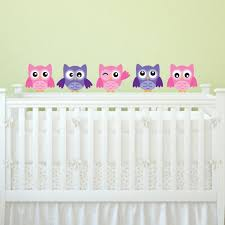 Nursery Owl Wall Decals Owl Wall Decals For Nursery Design Idea And Decorations
