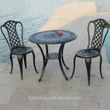 Hotsale All Weather Rust Free Cast Aluminium Outdoor Furniture - Heavy patio furniture