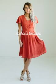 modest bridesmaid dresses rust flutter sleeve modest dress for church modest bridesmaids