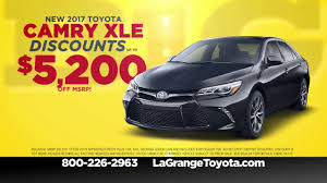 toyota dealer sales big one sales event at lagrange toyota july 2017 youtube