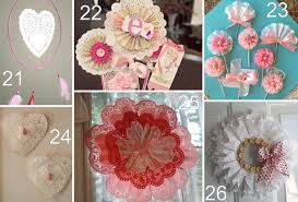 26 paper doily valentine crafts the scrap shoppe