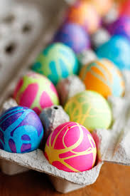coloring easter eggs w rubber cement u0026 food coloring best