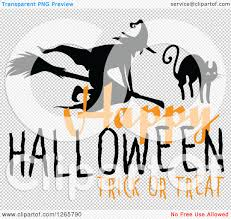 happy halloween clip art black and white clipart of a happy halloween trick or treat witch and cat design
