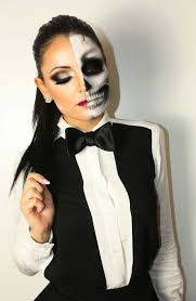 Skeleton Halloween Makeup by 57 Best Halloween Images On Pinterest Halloween Makeup Costumes