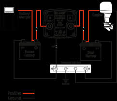battery isolator installation question and dual marine wiring