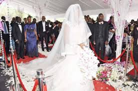 wedding dress growtopia president sata and at bona mugabe s wedding in pictures