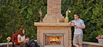 Belgard Brighton Fireplace by Outdoor Fireplaces