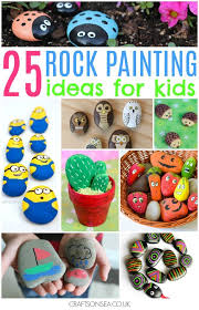 223 best stone and rock activities art and crafts images on