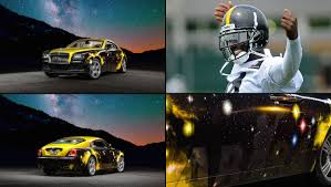 rolls royce sport car antonio brown owns a steelers themed rolls royce phantom si com
