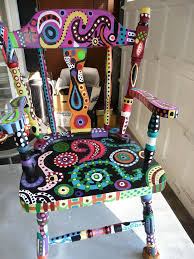 Painted Chairs Images 1369 Best Painted Chairs And Furniture Images On Pinterest