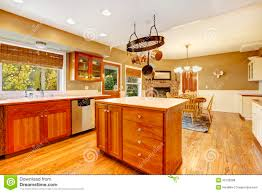 country farm large kitchen interior royalty free stock photos