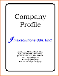 template free templates company profile sample company profile